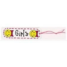 Hall Pass Girls Smiley Face (Set of 2)