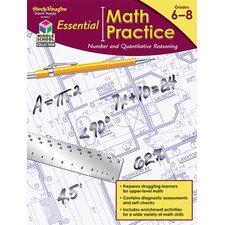 Essentl Math Practice Quantitative Book