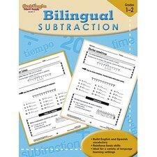 Bilingual Math Subtraction Book