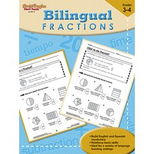 Bilingual Math Fractions Book