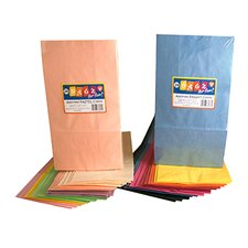 Colorful Paper Bags Pastel Assorted