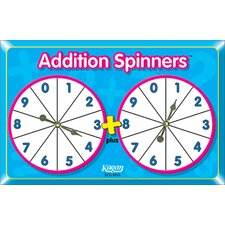 Addition Spinners (Set of 3)