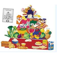 Food Pyramid Bulletin Board Cut Out Set
