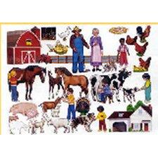 Farm Bulletin Board Cut Out