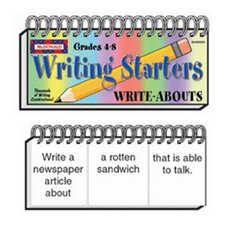 Write Abouts Writing Starters Book