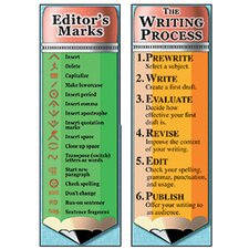 The Writing Process and Editors Bookmark (Set of 3)