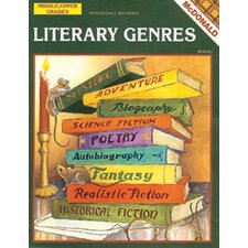 Literary Genres Grade 6-9 Book (Set of 2)