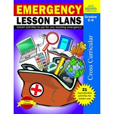 Emergency Lesson Plans Grade 5 - 6 Book