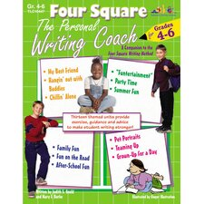 Four Square The Personal Writing Grade 4 - 6 Book