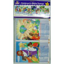 Childrens Bible Songs Bulletin Board Cut Out