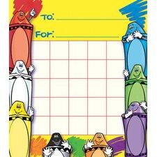 Crayons Motivational Chart (Set of 3)