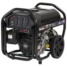 Portable 7,500 Watt Gasoline Generator with Recoil Start