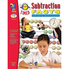Timed Subtraction Facts Book