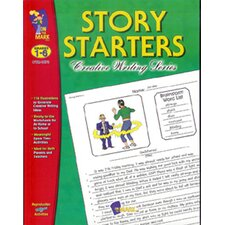 Story Starters Grade 1-6 Book
