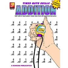 Timed Math Facts Addition Book