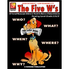 The 5 Ws 2nd Grade Reading Level Book