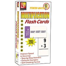Timed Math Multiplication Flash Cards
