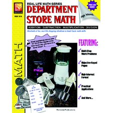 Book Department Store Math Grade 4 - 8 Book