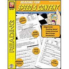 Reading for Speed and Content Book