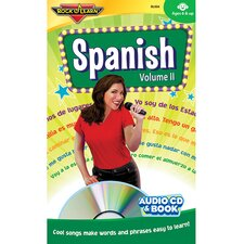 Spanish Volume II Book CD