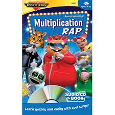 Multiplication Rap Book CD