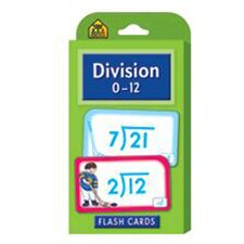 Division 0-12 Flash Cards (Set of 3)