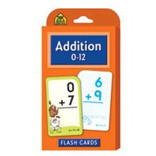 Addition 0-12 Flash Cards (Set of 3)