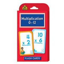 Multiplication 0-12 Flash Cards (Set of 3)