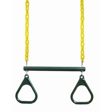 """17"""" Trapeze Bar with Rings"""