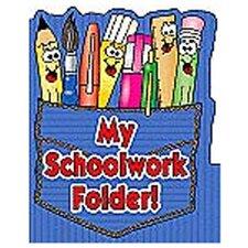 Pocket Folder My Schoolwork Folder (Set of 3)