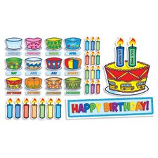 Birthday Cakes Mini Bulletin Board Cut Out
