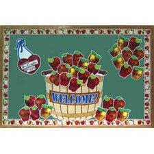 Giant Apple Basket Bulletin Board Cut Out