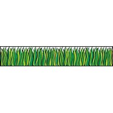 Tall Green Grass Punch Outs Classroom Border (Set of 2)