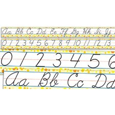Standard Cursive Letters and Numbers