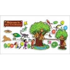 Jungle Treehouse Bulletin Board Cut Out