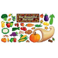 Autumn Harvest Bulletin Board Cut Out