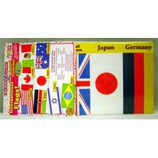 International Flags Accent Punch Bulletin Board Cut Out (Set of 2)