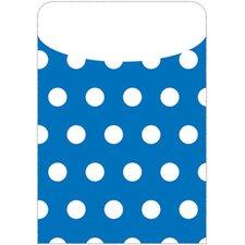 Brite Pockets Polka Dots 35/bag File Folder (Set of 2)