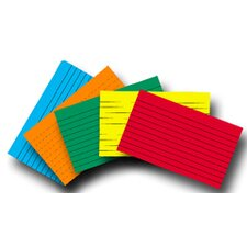 Index Cards 5x8 Blank 100 Ct Brite