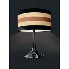 """Malivizi 25.59"""" H Table Lamp with Drum Shade"""