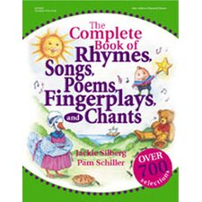 The Complete Book of Rhymes Songs Fingerplays Chants Book