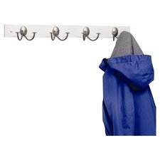 Stratford Coat Rack with 4 Double Hooks