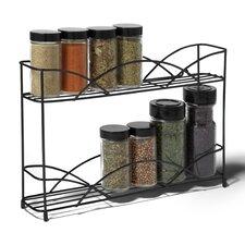Countertop 2-Tier Spice Rack
