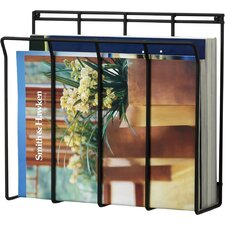 Wall Mount Wire Magazine / Newspaper Caddy