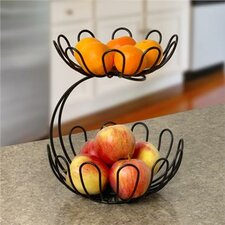 Bloom Arched 2-Tier Fruit Bowl