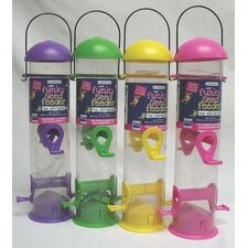 Funky Seed Tube Bird Feeder (Set of 12)