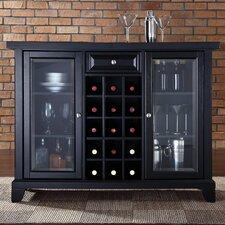 Alexandria Newport Bar Cabinet with Wine Storage