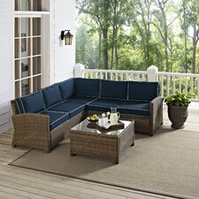 Bradenton 4 Piece Deep Seating Group with Cushions
