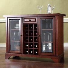 Alexandria LaFayette Bar Cabinet with Wine Storage