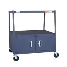 High TV Cart for TV Monitor with Cabinet